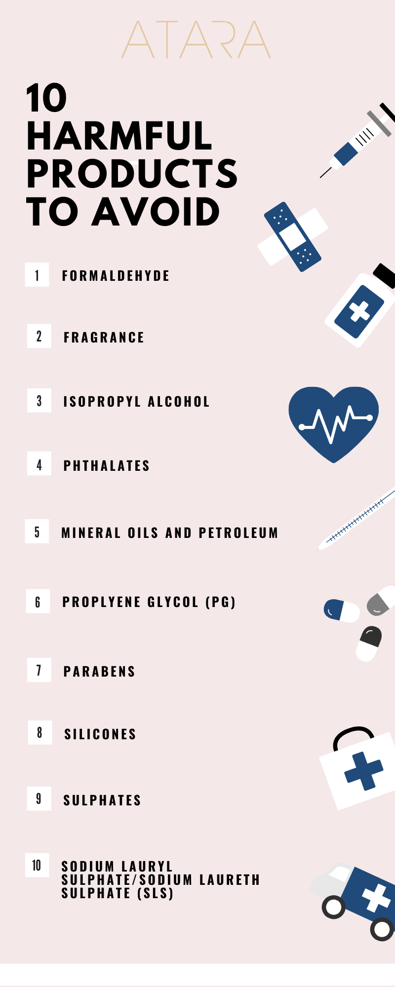 10 Harmful Ingredients to Avoid in Hair Products