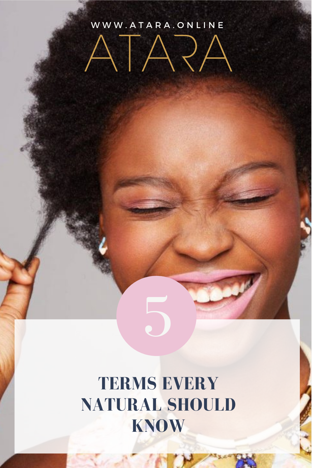 5 terms every natural should know (on their natural hair journey)